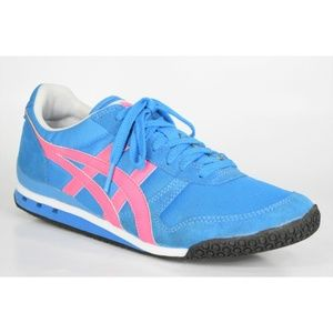 Asics Onitsuka Tiger Womens Ultimate 81 Blue Shoes